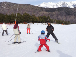 Classes d'esquí Snowskikayak